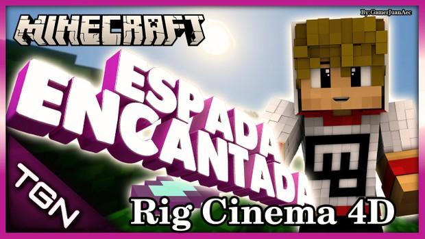 Rig Minecraft Espada Encantada By:GamerJuanAec