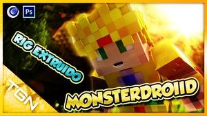 Rig Extruido MonsterDroiid By:GamerJuanAec - Maxon Cinema4D - Descarga