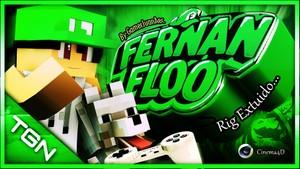 Fernanfloo (Rig Extruido) Cinema4D By:GamerJuanAec