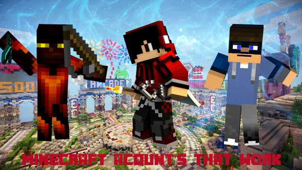 free minecraft acount alt CAN NOT CHANGE PASSWORD OR USERNAME OR SKIN IT IS  MIGRATED