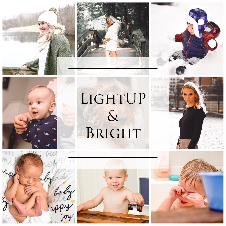 LightUP & Bright (5 LR Mobile Presets)