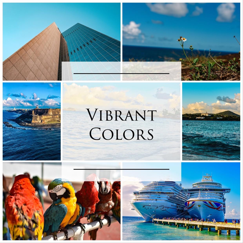 Vibrant Colors Pack (3LR Mobile Presets)