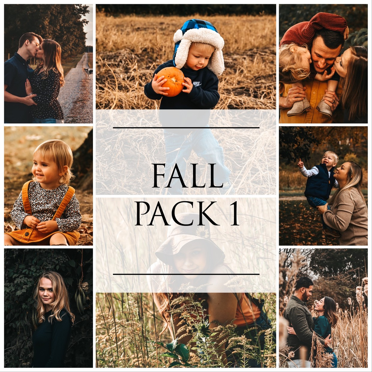 Fall Pack 1 ( 4 LR Mobile Presets)