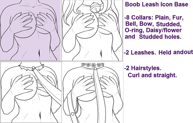 Boob leash Icon base