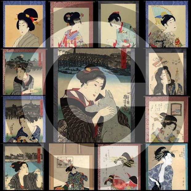 GeishaRoll#5Mesh