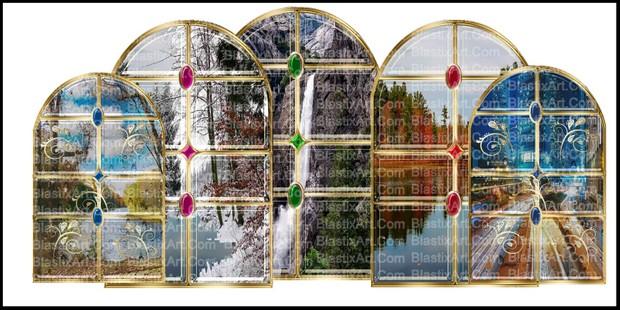 200- INDIAN  WINDOWS BY CARYR