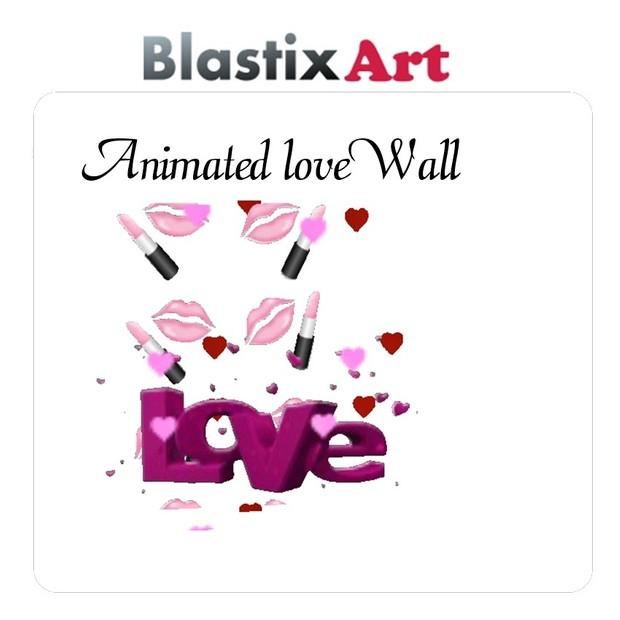 Animated Love wall