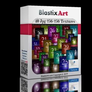40 Jpg 256-256 Number Textures
