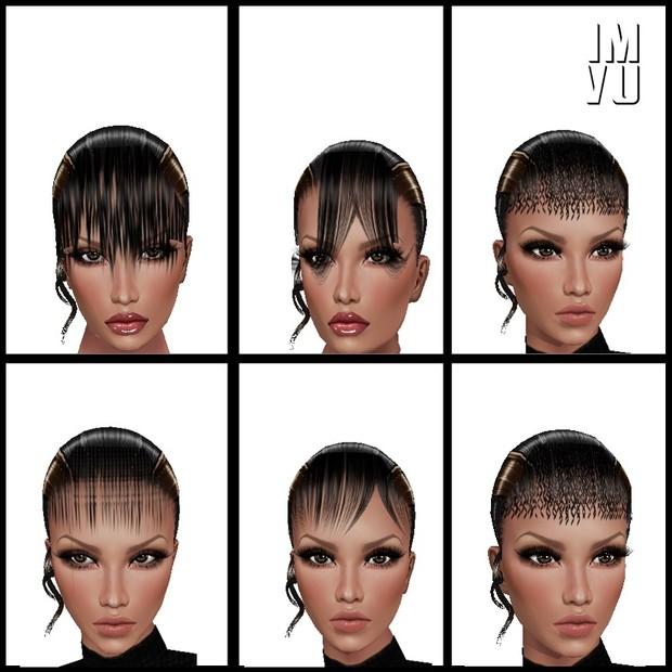 40 Hair Bang opacity