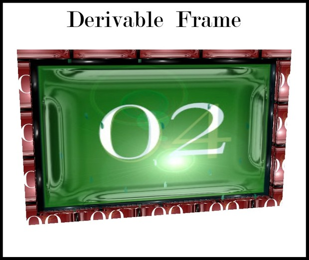 Derivable Animated  frame Mesh