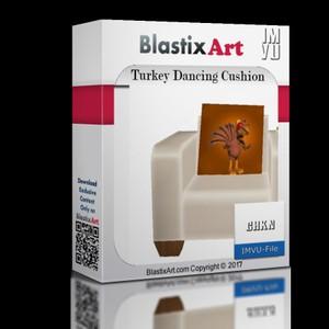 Turkey Dancing Cushion