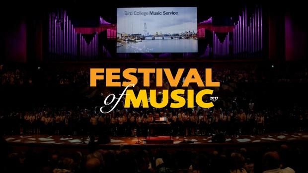 Bird College's Festival of Music 2017
