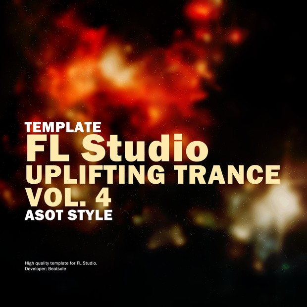 Uplifting Trance FL Studio Template Vol. 4 (ASOT Style)