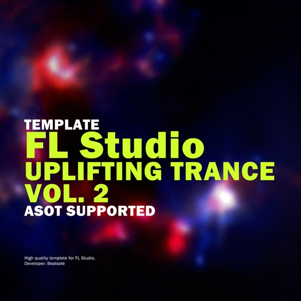 Uplifting Trance FL Studio Template Vol. 2 (ASOT Supported)
