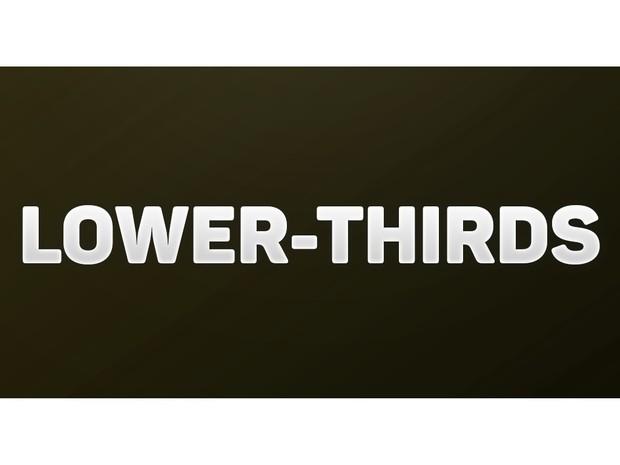 3 Lower-Thirds