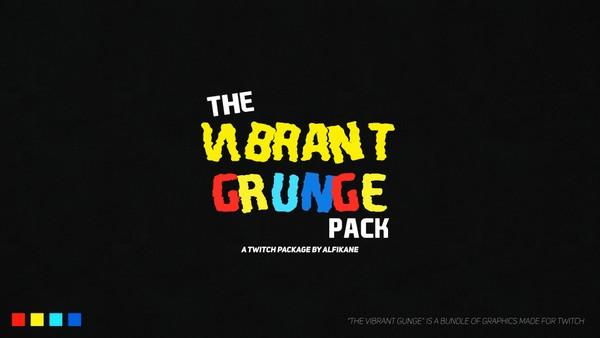 Vibrant Grunge Twitch Bundle