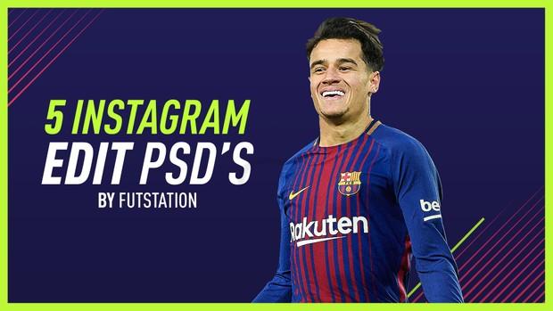5 INSTAGRAM EDIT PSD'S