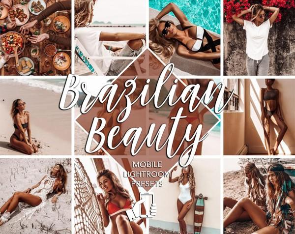 Brazilian Beauty   6 Mobile Lightroom Presets