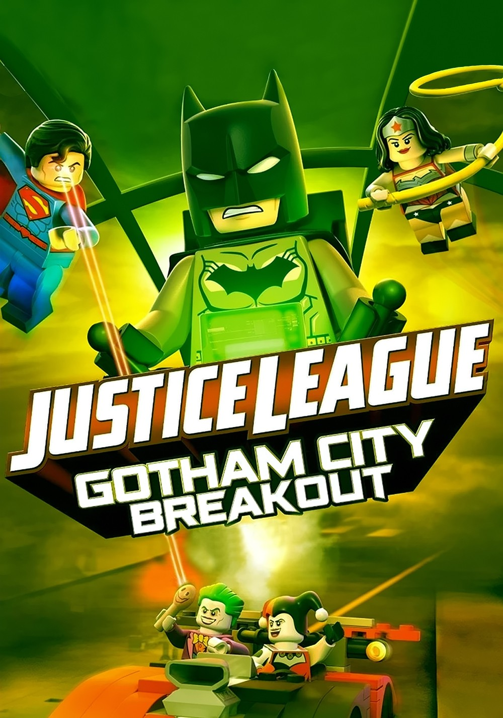 Lego Dc Comics Super Heroes Justice League Gotham C Digital Movie Mania
