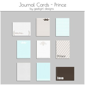 Prince Journal Card by geekgirl designs