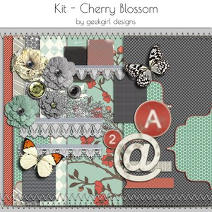 Cherry Blossom Kit by geekgirl designs