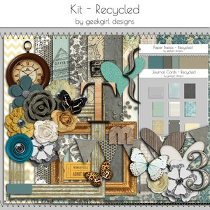 Recycled Kit by geekgirl designs