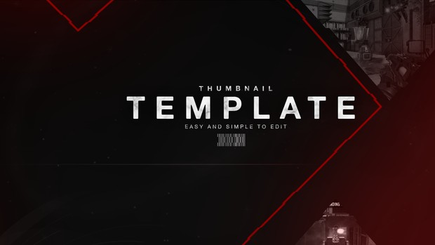 Call of Duty Glitch Thumbnail Template