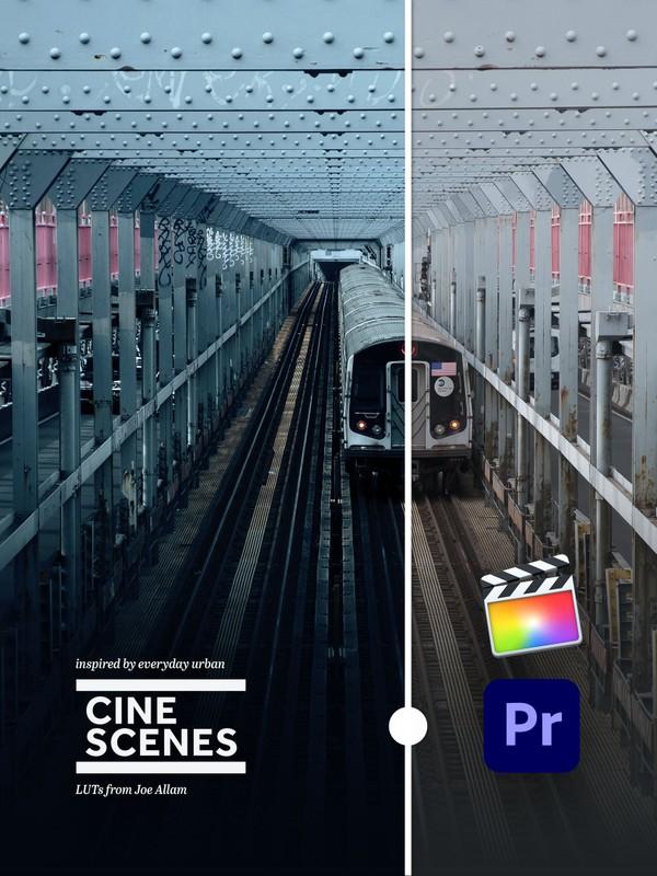 CINE SCENES URBAN.01 — LUTs for Video