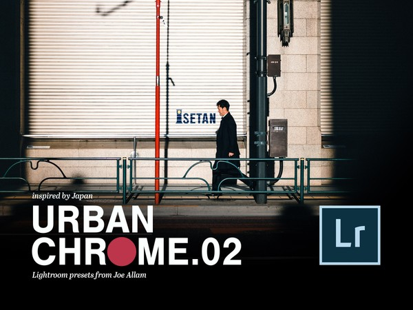 URBAN CHROME vol.2 — 27x Lightroom Edit Presets