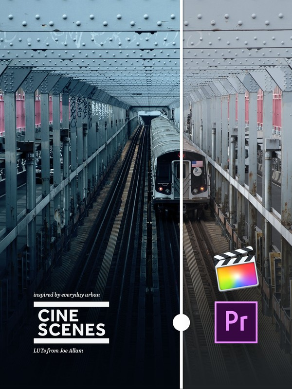 CINE SCENES URBAN.01 — LUTs for Video