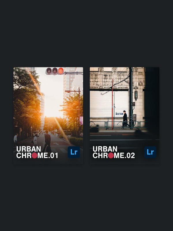URBAN CHROME vol.1 + vol.2