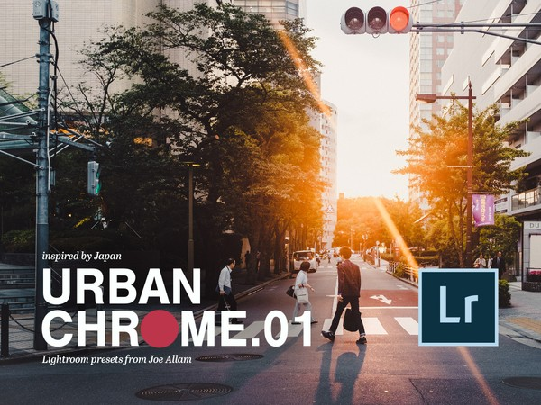 URBAN CHROME vol.1 — 25x Lightroom Edit Presets