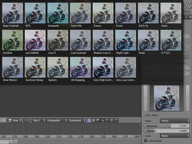 Cinemacolour For Blender