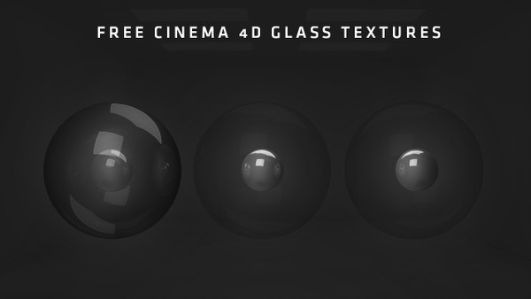 FREE C4D Glass Textures