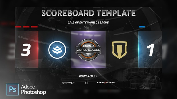 Scoreboard Template  Subliminal  SellfyCom