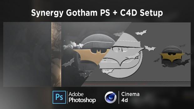 Synergy Gotham PS + C4D Setup