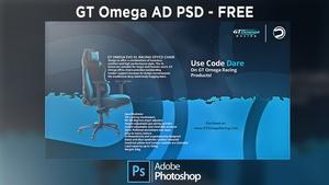 GT Omega Ad - FREE PSD