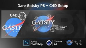 Dare Gatsby PS + C4D Setup