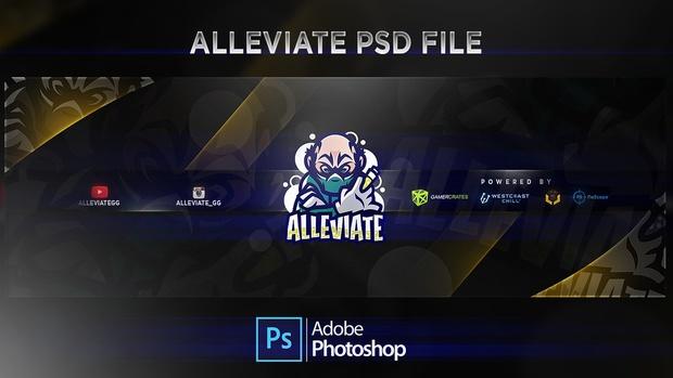 Alleviate Header PSD