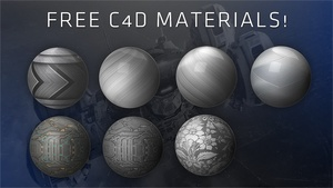 Free C4D Material Collection