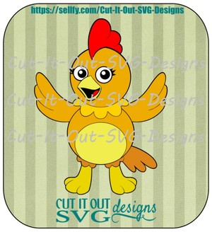 Chica Chicken Inspired by the Sunny Side up Show