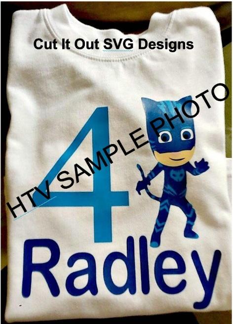 PJ Masks Character Catboy (Connor) SVG or Studio File
