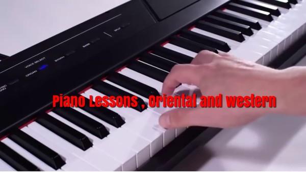 برنامج لتعليم البيانو متكامل،فيديو  تقنيات وأغاني  مع النوتة -Full piano program , techniques+songs