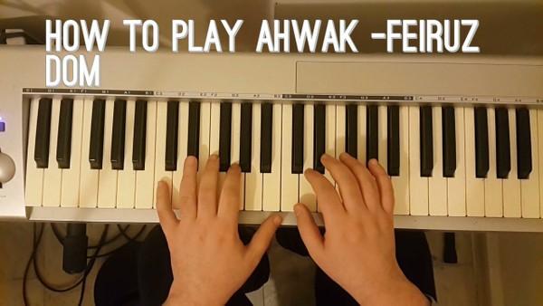how to play ahwak bila amal -تعلم عزف أغنية أهواك بلا أمل -زكي نصيف