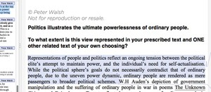 Module C: People and Politics HSC English Package 2018