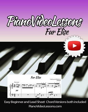 Fur Elise - Beethoven Late Beginner Arrangement Sheet Music Single