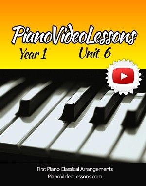 UNIT 6 [Year 1] Beginning Classical Music - 16 lessons, 47 pages.