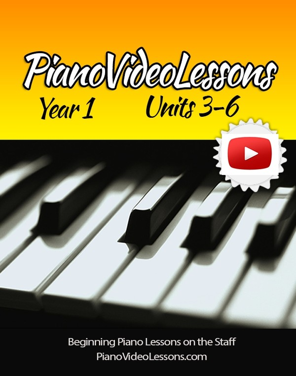 Year 1  Units 3-6 Bundle - 64 Lessons