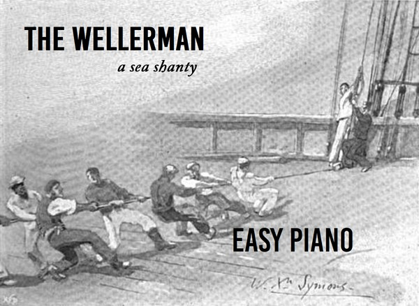 The Wellerman - Easy Piano Version - D minor