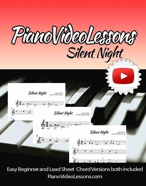 Silent Night for Easy Piano And Easy Chord Piano
